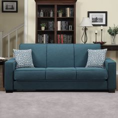 The Speciality Of Teal Sofa - Decorifusta Living Room Furniture Sale, Living Room Sets, Living Room Modern, Sofa Furniture, Furniture Design, Teal Couch, Couch Set, Sofa Layout, Apartment Sofa