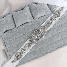 [ 29% OFF ] Cheap Price New Fashion Wedding Belt Crystal Bridal Sash Rhinestone Dress Sash Women Prom Wedding Sash Belt