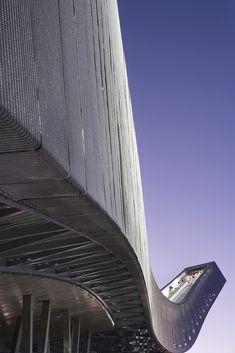 Holmenkollen Ski Jump. JDS Architects. Hufton + Crow Photographic Portfolio.