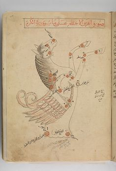 Constellation Pegasus. Kitab suwar al-kawakib al-thabita (Book of the Images of the Fixed Stars) of al-Sufi