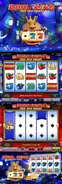 Novomatic has just released a new Free Spin Frenzy version of the Reel King slot and you can find it exclusively at Bell Fruit Casino right now.  --  #OnlineCasino #OnlineSlot #NewSlot