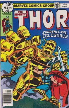 Thor Marvel Comics #283 Vol1 VF/NM 9.0