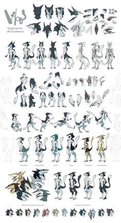 Sergal Reference Sheet