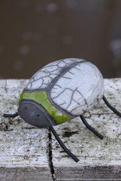 Ceramic Beetle. LÖK Linda Öhman Keramik