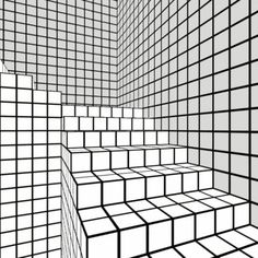 Animated gif uploaded by AndTheWorldStopped. Find images and videos about gif, art and cool on We Heart It - the app to get lost in what you love. Illusion Kunst, Illusion Art, Gif Animé, Animated Gif, Op Art, 3d Foto, Art Tumblr, Cool Optical Illusions, Animation
