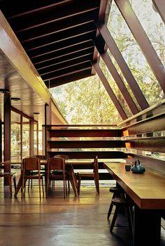 Schaeffer Residence designed in 1949 by John Lautner in LA, Park McDonald renovation, Joe Fletcher Photography   Remodelista