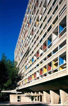 Le Corbusier -- l'Unite d'Habitation (La Cité Radieuse) 1952