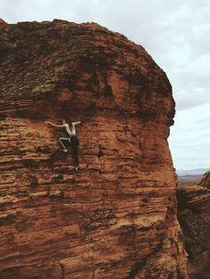 Rock climbing | VSCO GRID | Sierra Gordon