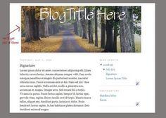 Gimp Tutorial - Designing a Header for your Blog/Website