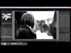 Lightroom - Traitement noir et blanc - YouTube