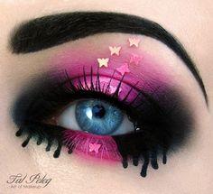 Maquillajes de ojos muy creativos