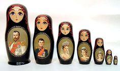 Romanov Family Dolls