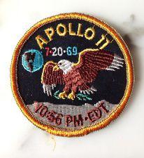 NASA Apollo 11 Patch (variant) moon landing