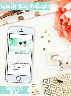 Check out the weekly Bloggers Get Social podcast. It features social media tips, ideas for blog posts, and answers your questions!