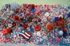 Patriotic Sensory Box