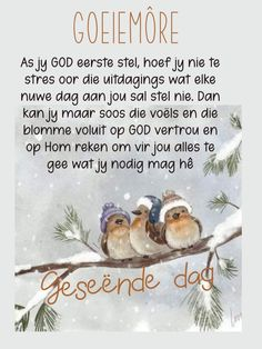Evening Greetings, Afrikaanse Quotes, Goeie Nag, Goeie More, Good Morning Wishes, Affirmations, Positive Affirmations, Confirmation, Affirmation Quotes