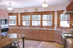 If we ever do the kitchen remodel I would love to do this along the back wall in place of all the sliding doors