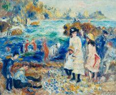 Pierre Auguste Renoir - Enfants au bord de la mer a Guernsey
