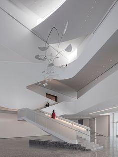 Atrium with 'International Mobile' by Alexander Calder (1949 )