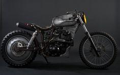 "Yamaha XT 600 Teneree ""Spacca Ossa"" ( transl. Bone shaker) by Lorenzo Fugaroli a.k.a. Fugar Metal Worker"