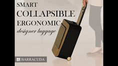 Meet the world's first fully-collapsible hardside carry-on with built-in tray…