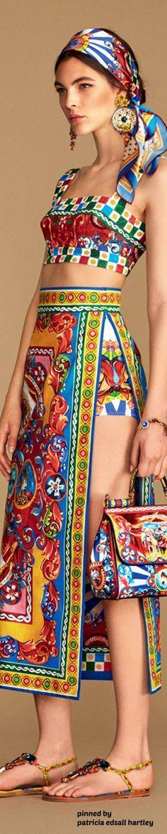 Dolce & Gabbana - Summer 2016 Collection Carretto Siciliano