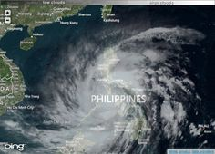 Nature's Eye- Yolanda is the strongest typhoon entered Philippines in 2013