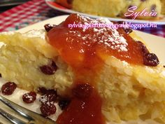 Sylvia Gasztro Angyal: Rizskoh (rizsfelfújt) French Toast, Pie, Pudding, Breakfast, Food, Hungary, Torte, Morning Coffee, Cake