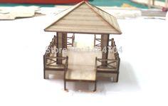 Barato Diy montagem do enigma modelo de quatro cantos pavilhão de madeira antigo clássico chinês modelo caramanchão, Compro Qualidade Kits de montar diretamente de fornecedores da China:    Este item é um modelos de quebra-cabeça,  Necessário para montar por si mesmo  , E é fácil de construir.        Nome