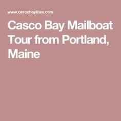 Casco Bay Mailboat Tour from Portland, Maine