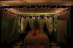 teen bedroom ideas tumblr - Google Search they did it with christmas lightsssssssssss