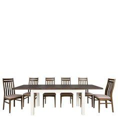 Esstisch mit Stühlen in Weiß Braun ausziehbar (7-teilig) Jetzt bestellen unter: https://moebel.ladendirekt.de/kueche-und-esszimmer/stuehle-und-hocker/esszimmerstuehle/?uid=0b15c5d3-5633-588d-bbd5-6d50464ca013&utm_source=pinterest&utm_medium=pin&utm_campaign=boards #esszimmergarnitur #essplatzgruppe #tischgruppe #sitzgarnitur #sitzgruppe #komplett #stuehle #stühle #kueche #stuhl #essgruppe #esszimmergruppe #tisch #esszimmerstuehle #esszimmertisch #esszimmer #esstischgruppe #hocker Bild…