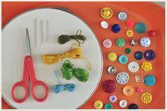 La Crochetnauta: Tutorial con botones
