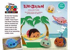 Lilo and Stitch Tsum Tsum set out July 7, 2015