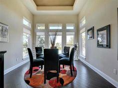 Hardwood floors, natural lighting, and crown baseboard molding 7616 Lenape Trl, Austin, TX 78736