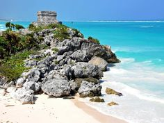 Besides gorgeous beaches and great snorkeling and diving, Tulum, located in Yucatán, Mexico, offers impressive Mayan ruins that date back to 564 A.D. Tulum means wall in the Yucatec language, which refers to the fact that the settlement was surrounded by a large barricade.