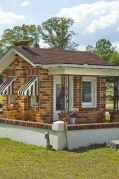 Little Nadine's Playhouse Mausoleum, the sweetest grave you've ever seen - Lanett, Alabama