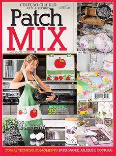 Artesanato - Tecidos - Patch Mix : COL CIRCULO ARTE & TECIDOS PATCH MIX 003 - Editora Minuano