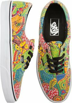 #Vans colorful era shoe