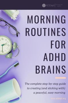 Creating routines can feel impossible with an ADHD brain. But the peace and security that you can get from a morning routine CAN be yours with this simple, free, step-by-step guide. Download it today and start an easier tomorrow. #ADHD #AdultADHD #ADHDroutine #MorningRoutine. #ADHDguide Mom Brain, Adhd Brain, Social Stories Autism, Autism Resources, Adhd Supplements, Adhd Relationships, Psychiatric Nurse Practitioner, Adhd Facts, Adhd Help