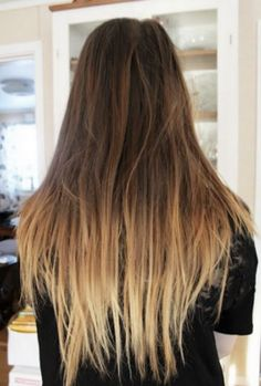 dark blonde to light blonde ombre straight hair google