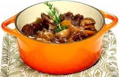 Ensopado de carne ao vinho tinto | Panelinha - Receitas que funcionam Servir com o arroz de grão de bico