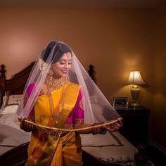 "PEARL IMAGE PHOTOGRAPHY (@pearlimage) on Instagram: ""Mathangi & Niro: Married!@mathangitheva @niro.3 . . . Cinematography: @pearlmotion Photography:…"" Pearl Images, Wedding Couples, Wedding Ideas, Tamil Wedding, Indian Bridal Wear, Image Photography, Bridal Makeup, Cinematography, Veil"