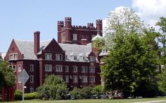 Risley Hall, Cornell University.  The dorm I lived in for three years, amazing experience