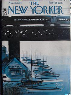 November 30, 1963 - Arthur Getz - THE NEW YORKER Issue on rhe Newsstand During JFK Assassination