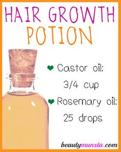 Here's the recipe for castor oil rosemary hair growth oil for thinning hair Castor Oil and Rosemary for Thinning Hair Thinning hair is when you begin to gradually lose hair over a time period…More Hair Remedies For Growth, Hair Loss Remedies, Thinning Hair Remedies, Natural Hair Tips, Natural Hair Styles, Natural Makeup, Oil For Hair Loss, Castor Oil For Hair Growth, Homemade Hair Growth Oil