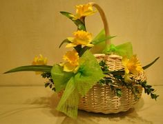 Easter baskets, found in store at Dom itp