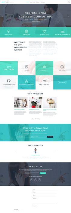 WordPress Theme , Accounting Website