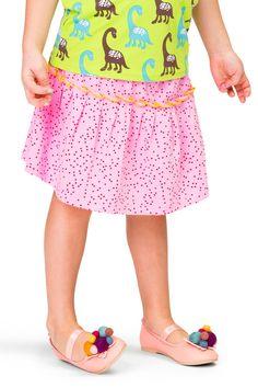 Heltryckt kjol i två våder med gul dekorationssöm i mitten. Lily Pulitzer, Leggings, Skirts, Dresses, Fashion, Vestidos, Moda, Fashion Styles, Skirt