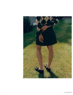 Sofie Hemmet in Vogue Netherlands September 2016 by Michael Hemy Prep Style, Boyish, Cool Kids, Editorial Fashion, Tweed, Skater Skirt, Vogue, Photoshoot, Lifestyle